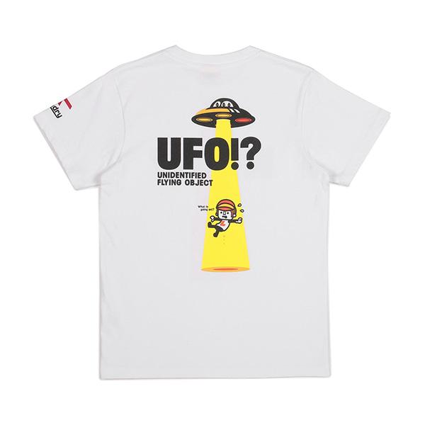 UFOTシャツ | WHITE